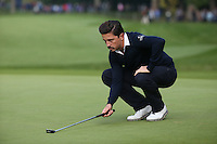 Mike Lorenzo-Vera (FRA) the leading Frenchman during the Final Round of the British Masters 2015 supported by SkySports played on the Marquess Course at Woburn Golf Club, Little Brickhill, Milton Keynes, England.  11/10/2015. Picture: Golffile | David Lloyd<br /> <br /> All photos usage must carry mandatory copyright credit (© Golffile | David Lloyd)
