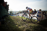 British Champion Ian Field (GBR/Hargroves Cycles)<br /> <br /> Koppenbergcross 2014