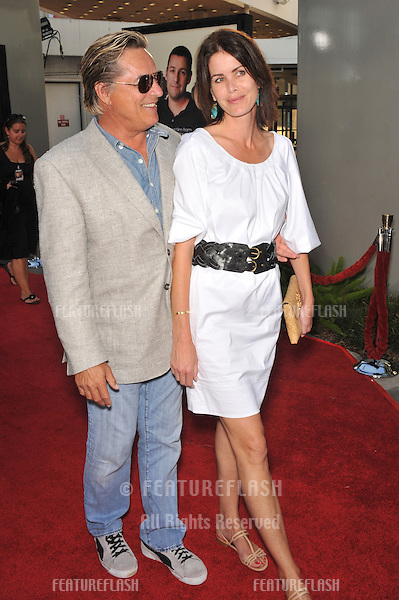 """Don Johnson & wife Kelley Phleger at the world premiere of """"Funny People"""" at the Arclight Theatre, Hollywood..July 20, 2009  Los Angeles, CA.Picture: Paul Smith / Featureflash"""