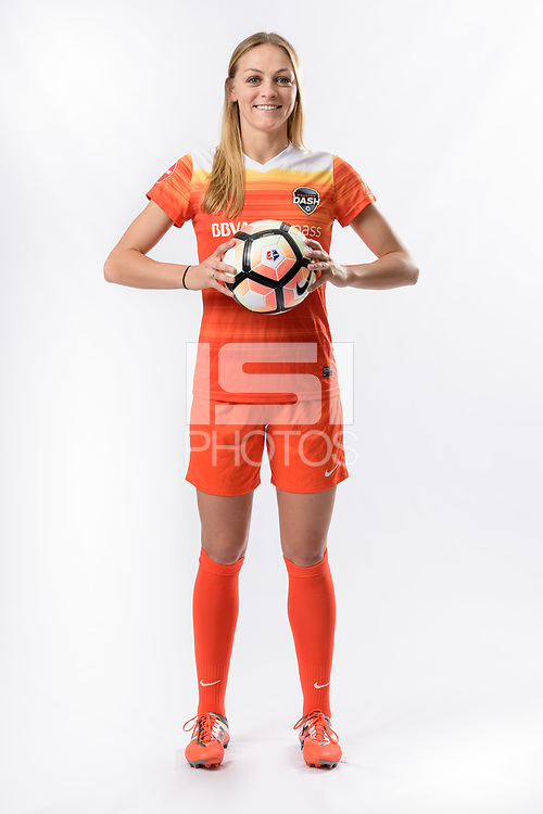 Houston, TX - Thursday March 23, 2017:  Houston Dash Media Day Photos at BBVA Compass Stadium.