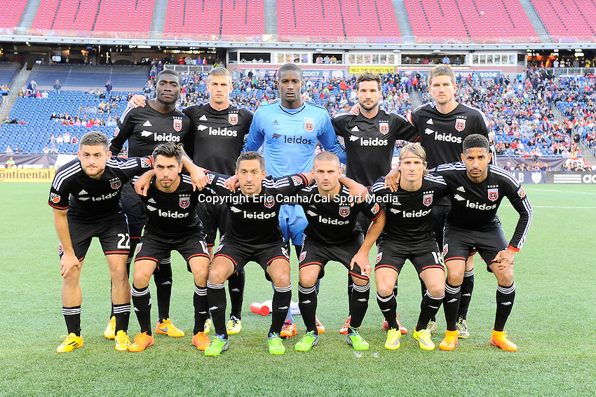 May 23, 2015 - Foxborough, Massachusetts, U.S. - D.C. United pose for a team photo before the MLS game between DC United and the New England Revolution held at Gillette Stadium in Foxborough Massachusetts. The New England Revolution and D.C. United ended the game tied 1-1.  Eric Canha/CSM