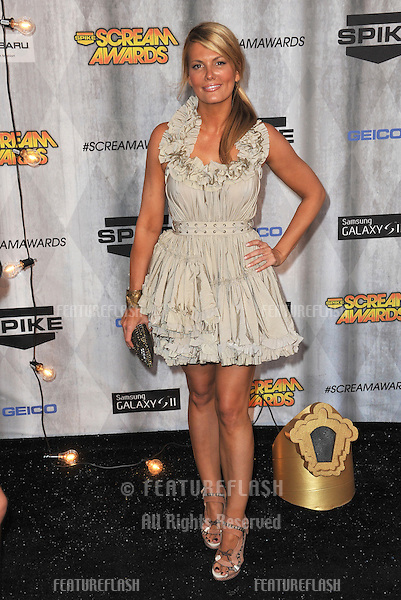 Courtney Hansen at the 2011 Spike TV Scream Awards at Universal Studios, Hollywood..October 15, 2011  Los Angeles, CA.Picture: Paul Smith / Featureflash