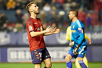 Roberto Torres (midfield; CA Osasuna) during the Spanish football of La Liga 123, match between CA Osasuna and AD Alcorcón at the Sadar stadium, in Pamplona (Navarra), Spain, on Sunday, January 6, 2019.