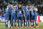 Getafe's players during La Liga match. March 18,2016. (ALTERPHOTOS/Acero)