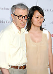 """Director Woody Allen and wife Soon-Yi Previn arrive at The Los Angeles Premiere of """"Vicky Cristina Barcelona"""" at the Mann Village Theatre on August 4, 2008 in Westwood, California."""