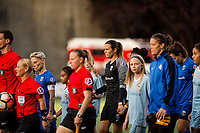 Seattle, WA - Sunday, September 24th, 2017: Lydia Williams during a regular season National Women's Soccer League (NWSL) match between the Seattle Reign FC and FC Kansas City at Memorial Stadium.