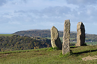 Part of a Stone Circle at the Welsh Mountain Zoo, Conwy