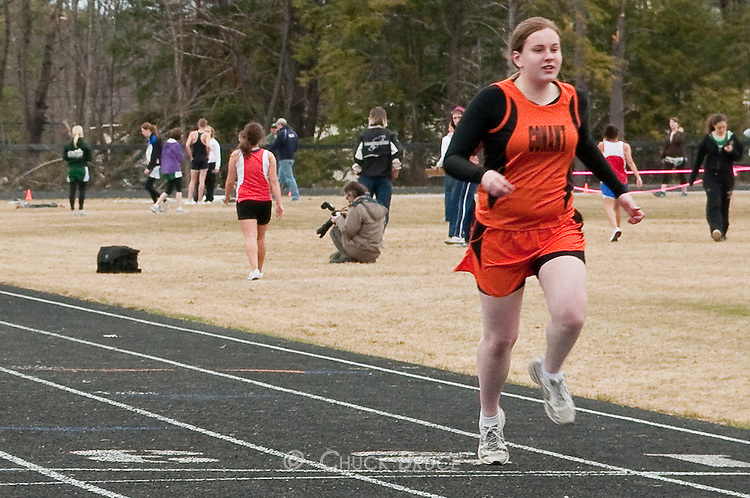 Orioles host first track meet