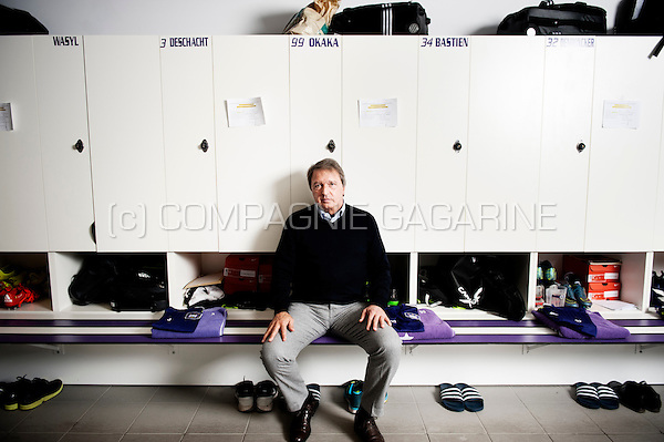 Herman Van Holsbeeck, general manager at RSC Anderlecht (Belgium, 23/10/2015)