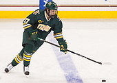 Craig Puffer (UVM - 17) - The visiting University of Vermont Catamounts tied the Boston College Eagles 2-2 on Saturday, February 18, 2017, Boston College's senior night at Kelley Rink in Conte Forum in Chestnut Hill, Massachusetts.Vermont and BC tied 2-2 on Saturday, February 18, 2017, Boston College's senior night at Kelley Rink in Conte Forum in Chestnut Hill, Massachusetts.