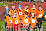 Killarney South runners at the Denny Kerry Community Games finals in Castleisland on Saturday front row l-r: Holly Spellman, Pia Hickey, Robbie Harnett, Alex Hennigan. Back row: Jordan McCarthy, Dylan McCarthy, Christian Casey, Jamie Muldoon, Mark Cooper and Aaron O'Sullivan