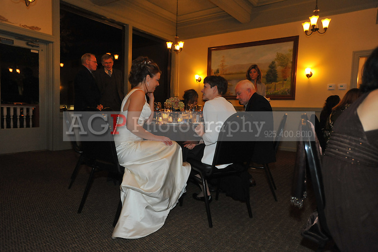 Johanna Baldwin and Kevin Yoder were married at the Pleasanton Hotel in Pleasanton, California November 21, 2009. (Photo by Alan Greth