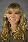 Katie Schiller, Assistant Director of Advising, College of Computing and Digital Media, DePaul University, is pictured in a studio portrait Sept. 21, 2017. (DePaul University/Jeff Carrion)