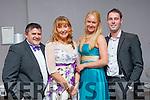 William and Phil Sheahan, Teresa O'Grady and Denis O'Sullivan at the Killarney Mayor ball in aid of the Irish cancer society at the Malton Hotel on Sunday night