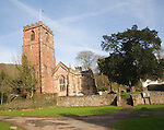 Church of the Holy Ghost with its 14th century tower, Crowcombe, Somerset, England is possibly the only church in the country with this dedication.