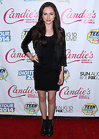 BEVERLY HILLS, CA, USA - AUGUST 09: Temara Melek at the DigiTour and Candie's Official Teen Choice Awards 2014 Pre-Party held at The Gibson Showroom on August 9, 2014 in Beverly Hills, California, United States. (Photo by Xavier Collin/Celebrity Monitor)