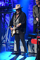 FORT LAUDERDALE, FL - DECEMBER 01: Raul Malo of The Mavericks performs at The Parker Playhouse on December 1, 2017 in Fort Lauderdale Florida. Credit: mpi04/MediaPunch