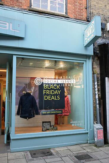 Black Friday, Norwich UK 29/11/19. Animal shop