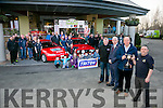Rally Launch: Tralee based Kerry Motor Club launch the up coming Rose Hotel sponsored Circuit of Kerry rally on Sunday at the hotel. Richard Tarbert, Triton National Rally Co-Ordinator, Mark Sullivan, Rose Hotel Manager, Cllr Jim Finucane and Tom Barrett, Circuit of Kerry,   with members of Kerry Motor Club   The 2016 Rose Hotel stage of the Circuit Of Kerry is on the 3rd of April.