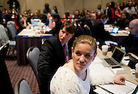Cat Whitehill. The NWSL draft was held at the Pennsylvania Convention Center in Philadelphia, PA, on January 17, 2014.