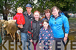 Daniel, Denis, Denise, Mairead, Sharon and Joanne McCarthy having a day at the fair in Kenmare last Thursday.