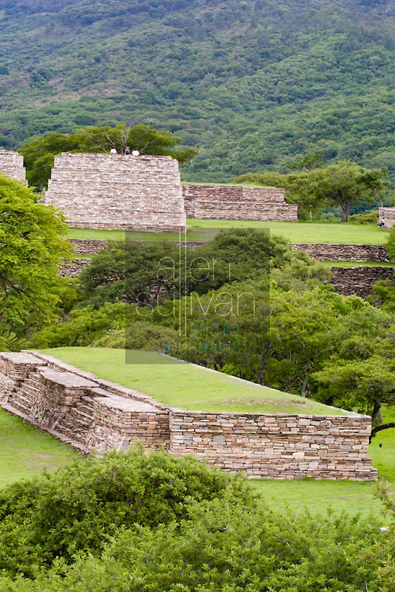 Mixco Viejo, a Mayan site in Guatemala.