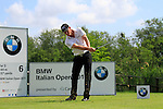Daniel Gaunt (AUS) tees on the 6th tee during Day 3 of the BMW Italian Open at Royal Park I Roveri, Turin, Italy, 11th June 2011 (Photo Eoin Clarke/Golffile 2011)