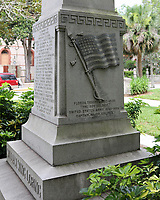 St. Augustine, FL June 27th:  A monument to Confederate General William Loring still stands in St. Augustine.  St. Augustine, Florida on June 27th, 2020 Credit Edward Kerns II/MediaPunch