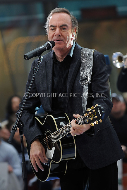 WWW.ACEPIXS.COM . . . . .....May 2, 2008. New York City.....Singer Neil Diamond performs on the 'Today Show' at Rockefeller Plaza...  ....Please byline: Kristin Callahan - ACEPIXS.COM..... *** ***..Ace Pictures, Inc:  ..Philip Vaughan (646) 769 0430..e-mail: info@acepixs.com..web: http://www.acepixs.com