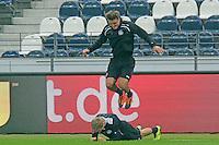 Stefan Aigner und Alex Meier (Eintracht) - Eintracht Europa League Training