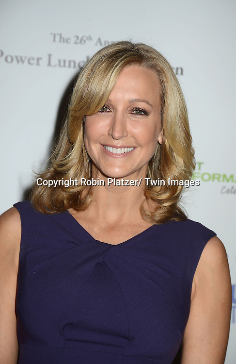 Lara Spencer in J Crew dress  attends the 26th Annual Citymeals-on-Wheels Power Lunch for Women on November 16, 2012 at The Plaza Hotel in New York City. The honorees were Paula Zahn and Randi and Dennis Riese.
