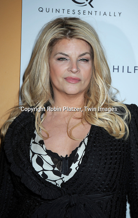 "Kirstie Alley attending The New York Premiere of ""The Runaways"" on March 17, 2010 at The Landmark Sunshine Cinema in New York City."