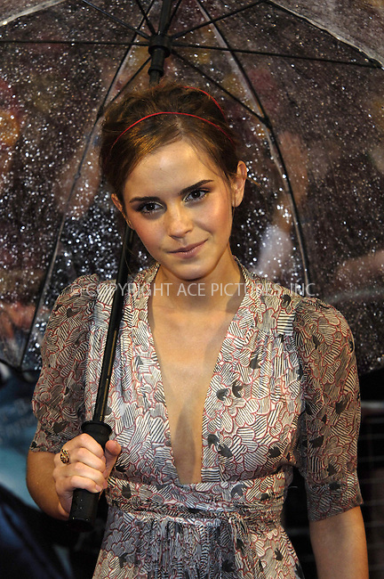 "WWW.ACEPIXS.COM . . . . .  ..... . . . . US SALES ONLY . . . . .....July 7 2009, London....Actress Emma Watson at the World Premiere of ""Harry Potter And The Half-Blood Prince"" held at the Empire Leicester Square on July 7 2009 in London....Please byline: FAMOUS-ACE PICTURES... . . . .  ....Ace Pictures, Inc:  ..tel: (212) 243 8787 or (646) 769 0430..e-mail: info@acepixs.com..web: http://www.acepixs.com"
