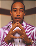 Rapper Ludacris just before his Album 'Red Light District' drops, Miami, Florida.