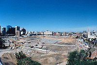 1997 June 05..Redevelopment..Macarthur Center.Downtown North (R-8)..LOOKING WEST.FROM ROTUNDA BUILDING.SUPERWIDE..NEG#.NRHA#..