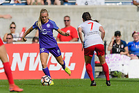 Bridgeview, IL - Saturday July 22, 2017: Rachel Hill during a regular season National Women's Soccer League (NWSL) match between the Chicago Red Stars and the Orlando Pride at Toyota Park. The Red Stars won 2-1.
