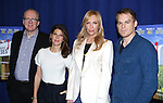 Tracy Letts, Marissa Tomei, Toni Collette and Michael C. Hall attending 'The Realistic Joneses'  Meet & Greet  at The New 42nd Street Studios on February 20, 2014 in New York City.