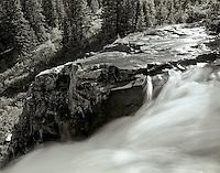 Waterfall in Yankee Boy Basin, Colorado.<br /> <br /> Mamiya RB 67 Pro SD, 90mm lens, Kodak TMAX film