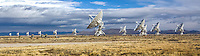 The Very Large Array, one of the world's premier astronomical radio observatories, consists of 27 radio antennas in a Y-shaped configuration on the Plains of San Agustin fifty miles west of Socorro, New Mexico.