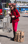...April 14th 2012    Exclusive ..Molly Shannon smiling laughing shopping at Whole Foods in West Hollywood. Molly was drinking a juice from a coconut while walking to her car ..AbilityFilms@yahoo.com.805-427-3519.www.AbilityFilms.com.