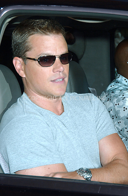 WWW.ACEPIXS.COM . . . . . ....August 1 2007, New York City......Matt Damon made an appearance on 'The Late Show with David Letterman' at the Ed Sullivan Theatre in midtown Manhattan.....Please byline: KRISTIN CALLAHAN - ACEPIXS.COM.. . . . . . ..Ace Pictures, Inc:  ..(646) 769 0430..e-mail: info@acepixs.com..web: http://www.acepixs.com