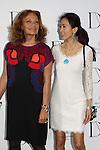 Diane von Furstenberg, Shizuka Kudo, Mar 20, 2014 : Shizuka Kudo, Diane von Furstenberg attend a photocall after Diane von Furstenberg fashion show Shibuya Hikarie Tokyo Jpan on 20 Mar. (Photo by Motoo Naka/AFLO)