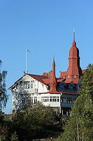 Restaurant Saaristo aufr Insel Luoto Klippan, Helsinki, Finnland