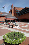 British Library exterior London