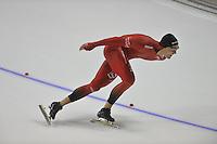 SCHAATSEN: CALGARY: Olympic Oval, 08-11-2013, Essent ISU World Cup, 1500m, Christoffer Fagerli Rukke (NOR), ©foto Martin de Jong
