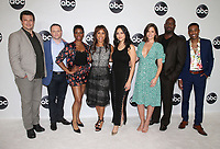 BEVERLY HILLS, CA - August 7: Titus Makin Jr., Alyssa Diaz, Afton Williamson, Richard Jones, Alexi Hawley, Mercedes Mason, Channing Dungey, Nathan Fillion, at Disney ABC Television Hosts TCA Summer Press Tour at The Beverly Hilton Hotel in Beverly Hills, California on August 7, 2018. <br /> CAP/MPI/FS<br /> &copy;FS/MPI/Capital Pictures