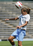 24 September 2006: UNC's Tobin Heath. The University of North Carolina Tarheels defeated the University of Miami Hurricanes 6-1 at Fetzer Field in Chapel Hill, North Carolina in an NCAA Division I women's soccer game.