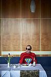Germany, Berlin, 2018/02/19<br /> <br /> Joachim Seinfeld, artist<br /> <br /> Funkhaus Berlin