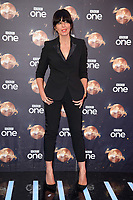 "Claudia Winkleman<br /> at the launch of ""Strictly Come Dancing"" 2018, BBC Broadcasting House, London<br /> <br /> ©Ash Knotek  D3426  27/08/2018"