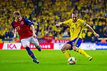 Fotboll, EM-kval, Sverige - Norge